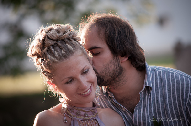 Svatební fotografie Eva a Michal
