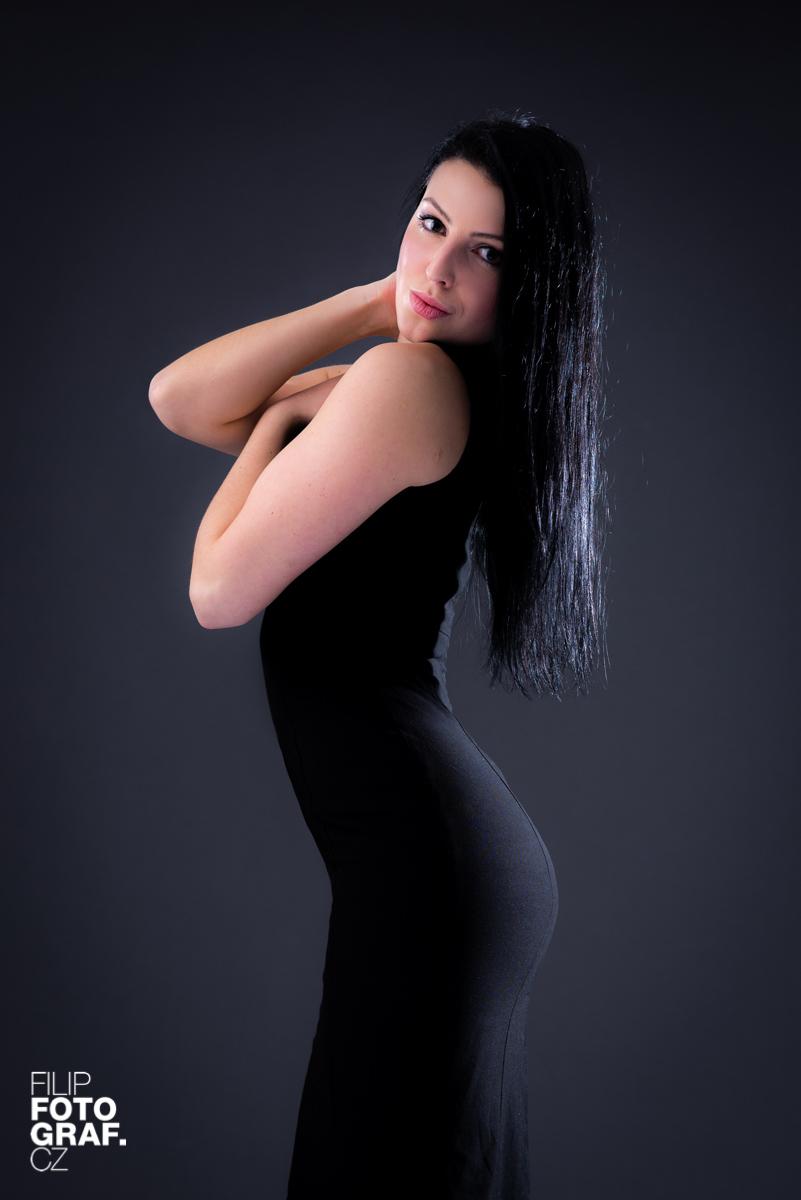 Ateliérové portrétní fotografie