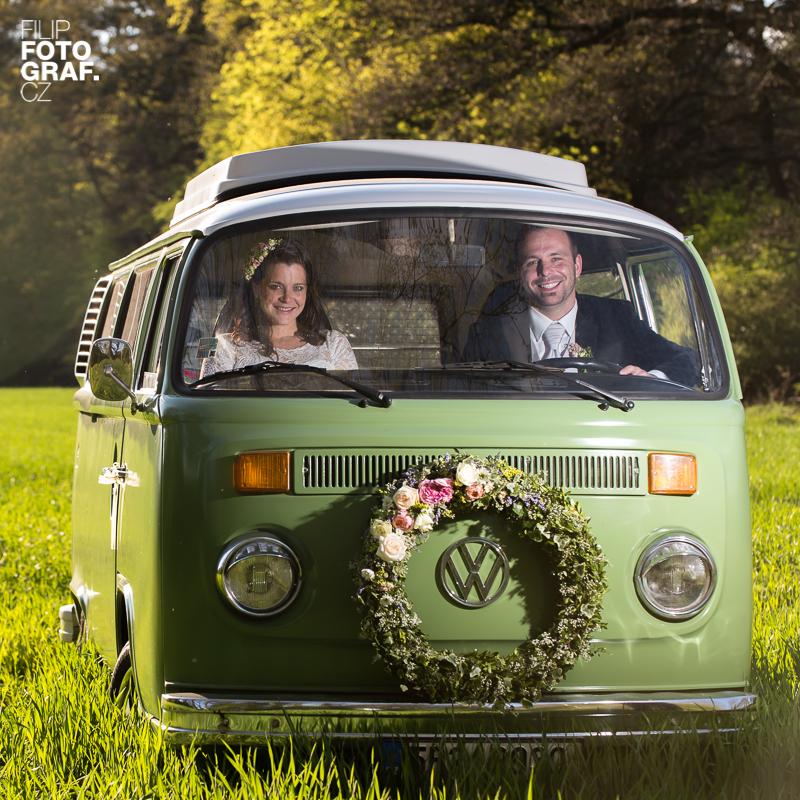 Svatební fotografie Lu a Romana