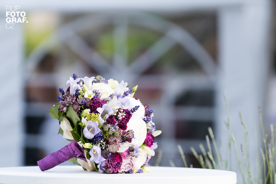 Fotograf Filip Komorous, svatební kytice