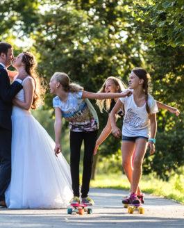Svatební fotografie Báry a Jakuba