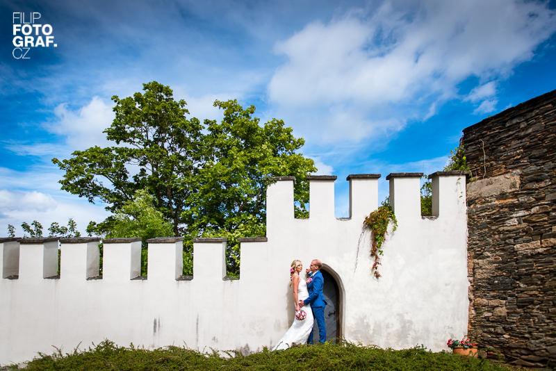 Svatební fotografie Martiny a Honzy