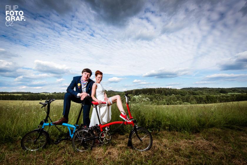 Svatební fotografie Zuzky a Dana