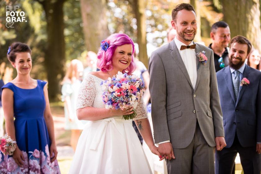 Svatební fotografie Evy a Jakuba