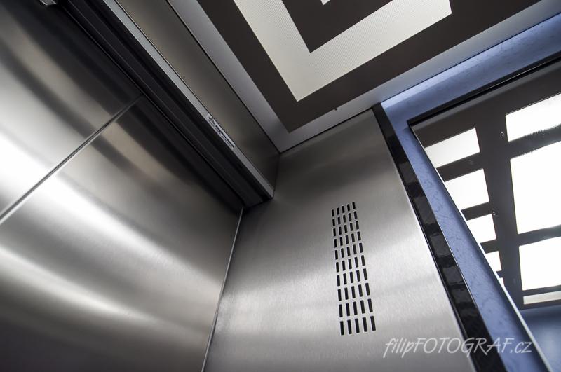 Produktová fotografie – výtahy