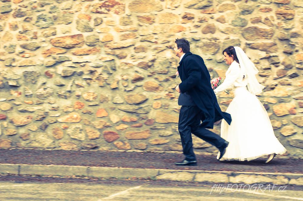 Zimní svatba v Klatovech