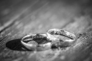 Svatební fotografie L a V