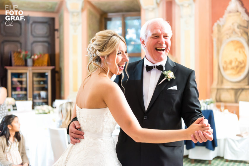 Svatební fotografie Sandry a Jakea