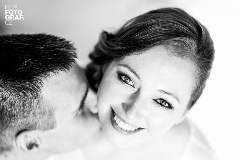 Svatební fotografie Honzy a Aleny