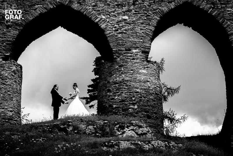 Svatební fotografie Zuzky a Lukáše