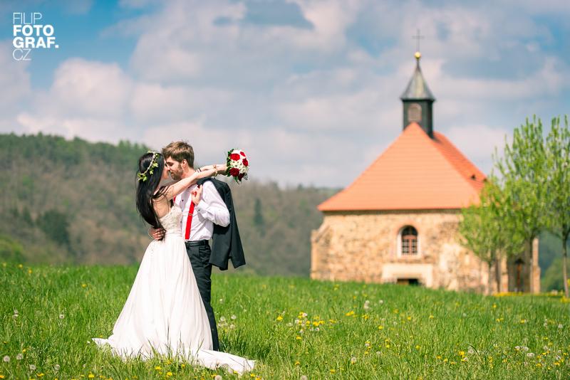 Svatební fotografie Klárky a Martina